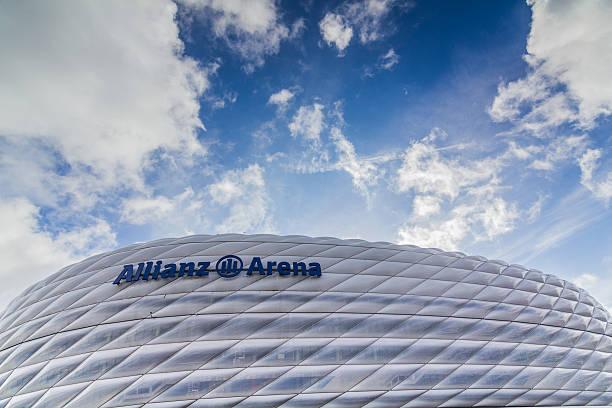allianz arena - bayern fußball heute stock-fotos und bilder