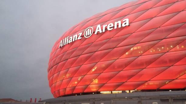 Stadion Allianz Arena in München, Bayern – Foto