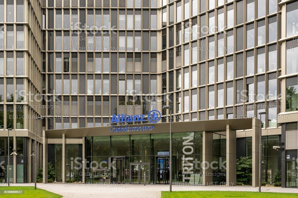 Allianz Global Investors Frankfurt Am Main Germny stock photo