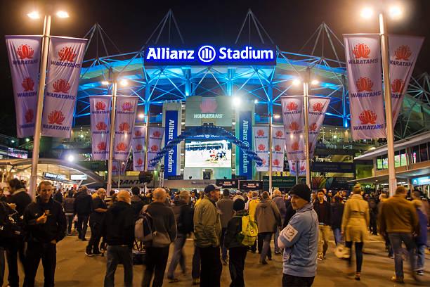 Allianz Stadium stock photo