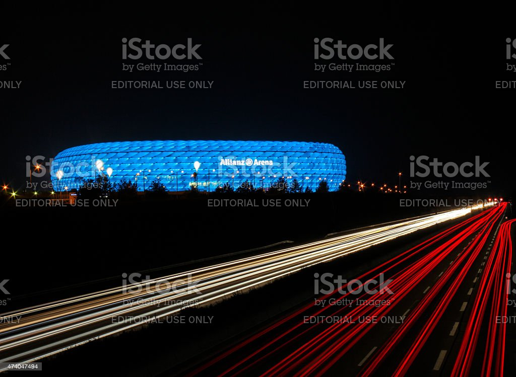 Allianz-Arena in Munich, Germany stock photo