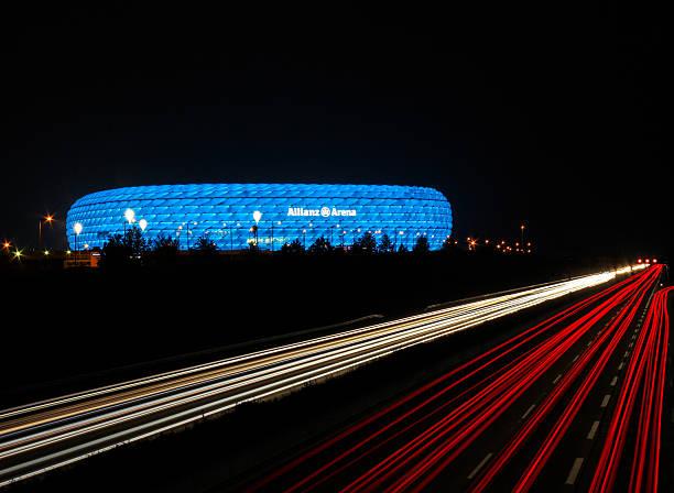 Allianz-Arena in München, Deutschland – Foto
