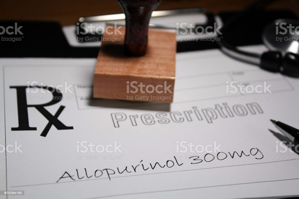 Allopurinol stock photo