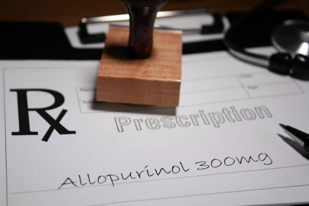 Allopurinol stock photo
