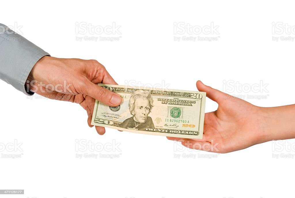 Allowance royalty-free stock photo