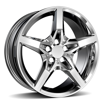 istock Alloy Wheel Rim 532670969