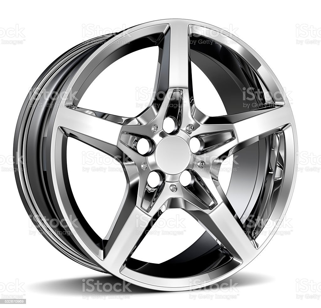 Alloy Wheel Rim stock photo