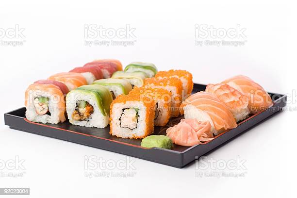 Allsorts Sushi Stock Photo - Download Image Now