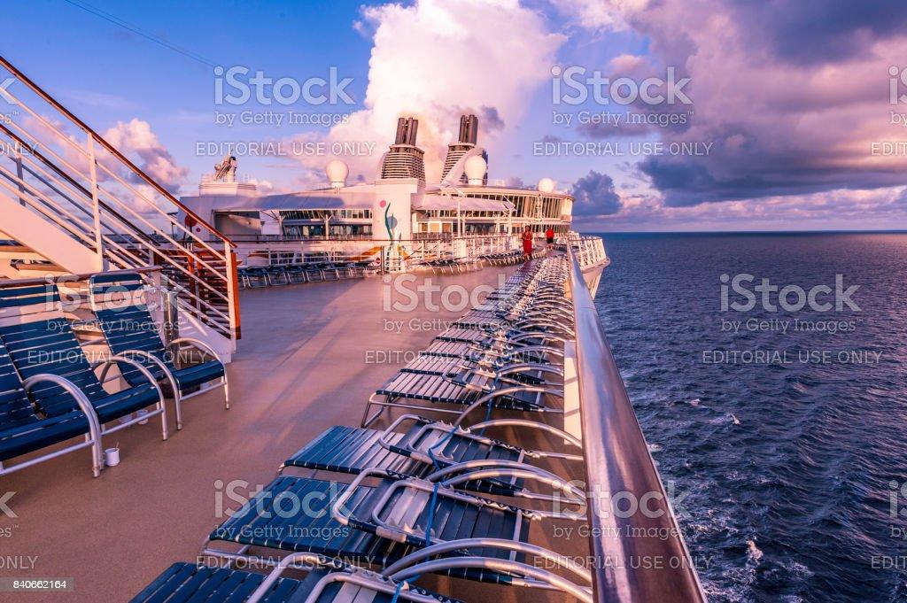 Allure of the Seas in Haiti stock photo