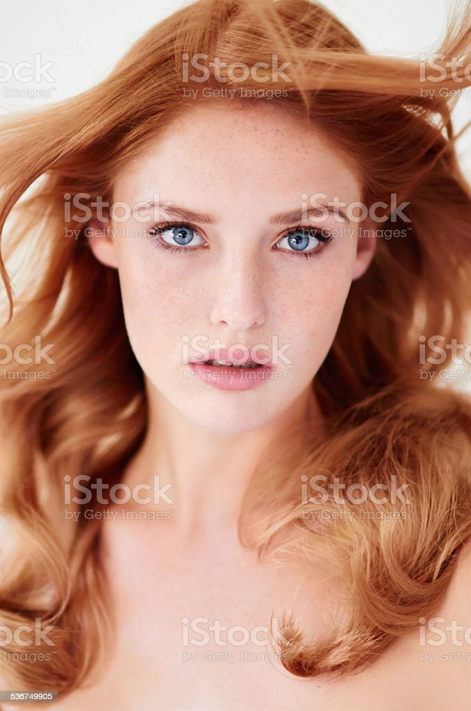 Alluring beauty stock photo