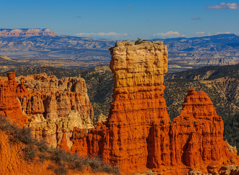 Alluring rock formation in Bryce Canyon National Park. Utah, United States of America