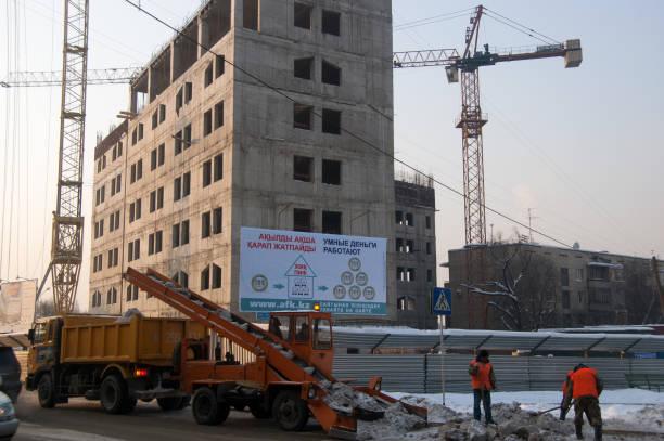 Almaty-Baustelle – Foto