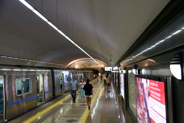almaty metro - alatau - almaty metro wiedenmeier stock-fotos und bilder
