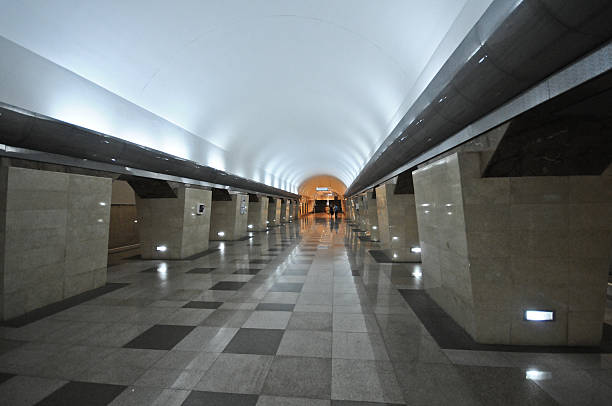 almaty-metro - almaty metro wiedenmeier stock-fotos und bilder