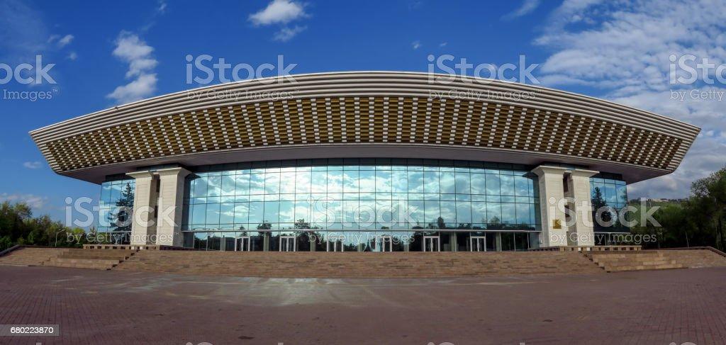 Almaty - Palace of the Republic stock photo