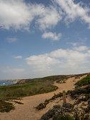 istock Almograve trail, Odemira, Portugal. 1295020931