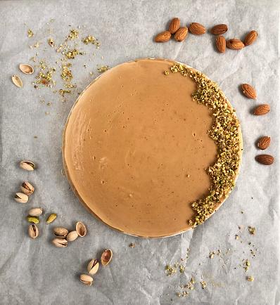 Almond and Turron Cake