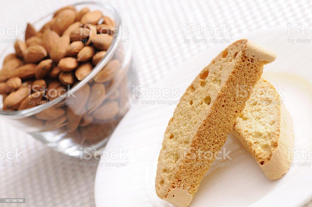 Almond Biscotti royalty-free stock photo