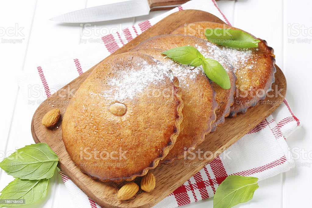 almond cookies royalty-free stock photo