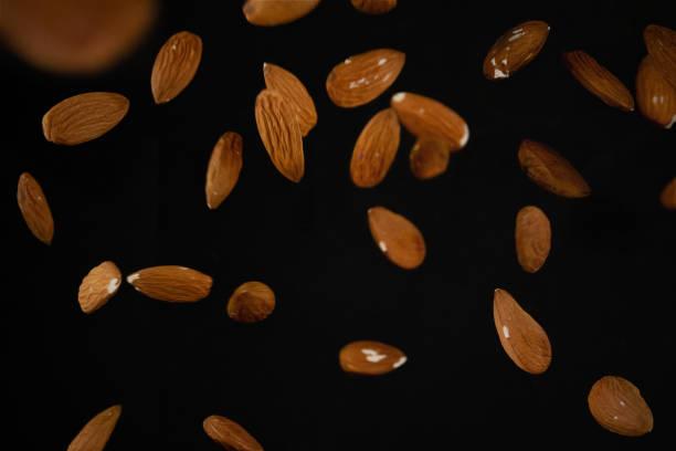 Almond explosion - foto stock