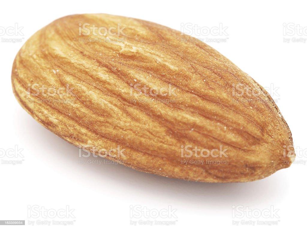 Almond maco isolated on white royalty-free stock photo