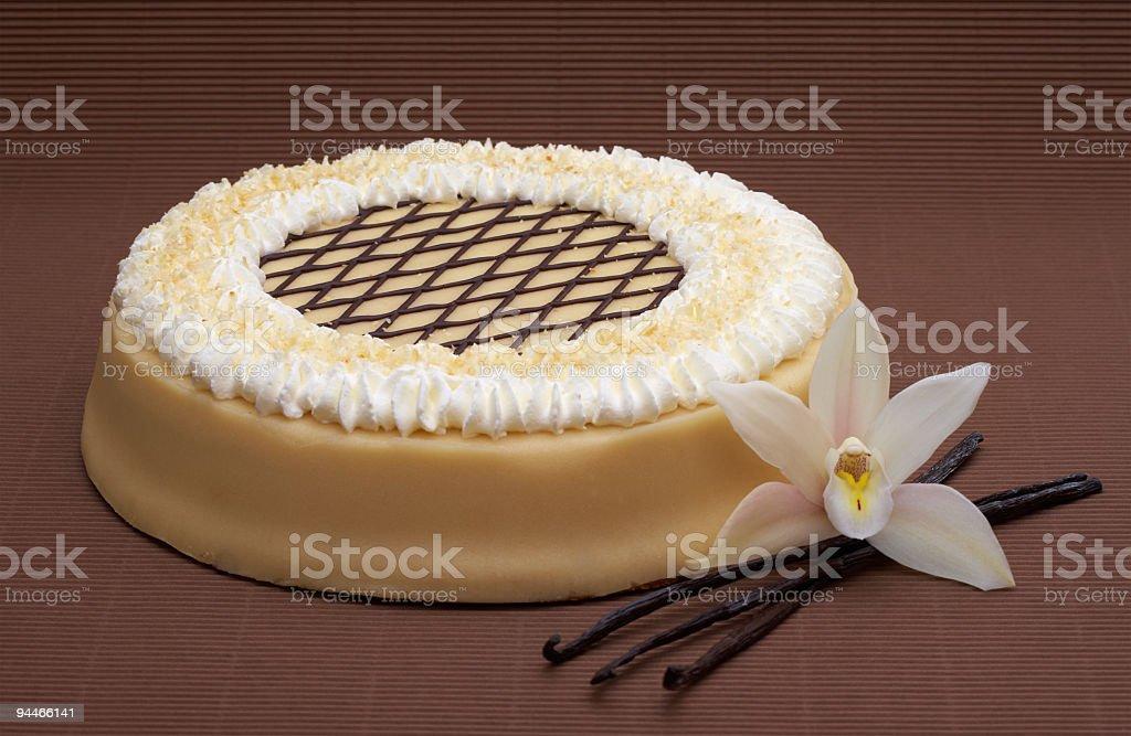 almond paste cake royalty-free stock photo
