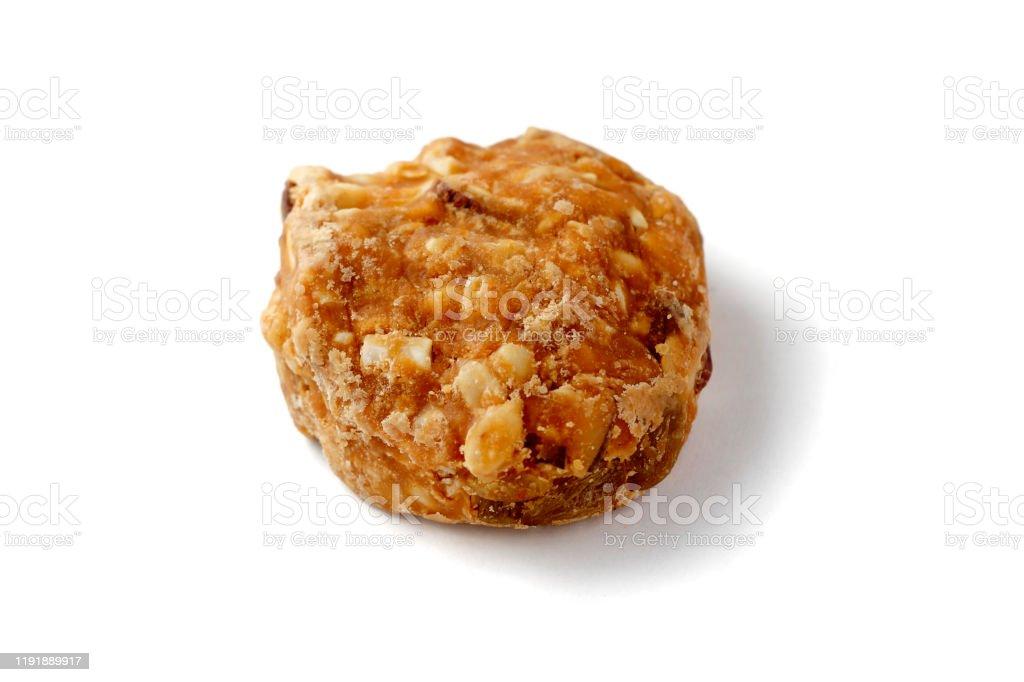 Almond Peanut cookies Almond Peanut cookies Almond Stock Photo