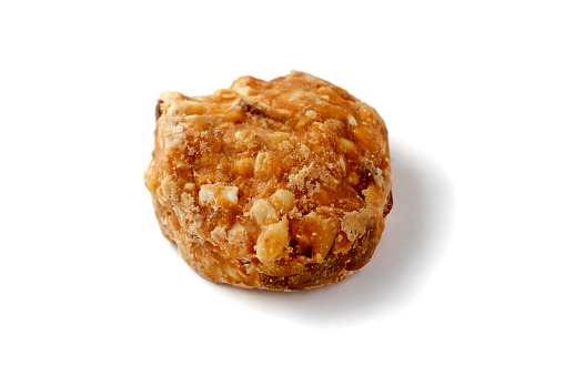 Almond Peanut Cookies Stock Photo - Download Image Now