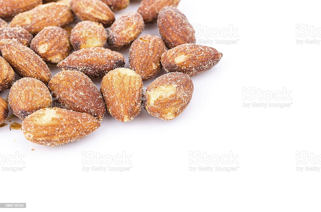 Almond royalty-free stock photo