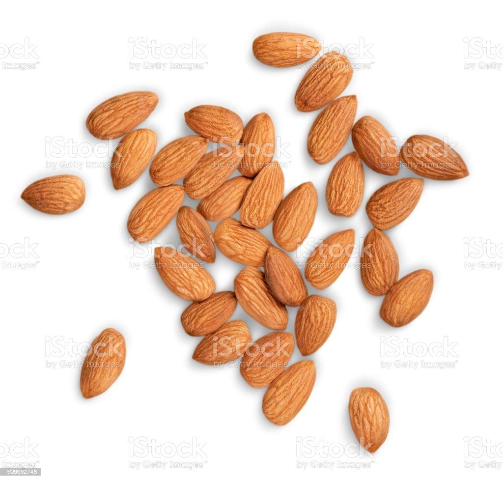 Almond. stock photo
