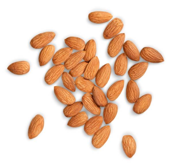 almond. - almond stock photos and pictures