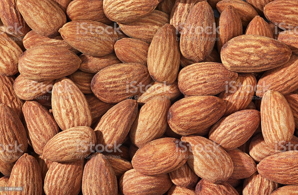 Almonds (Click for more) royalty-free stock photo