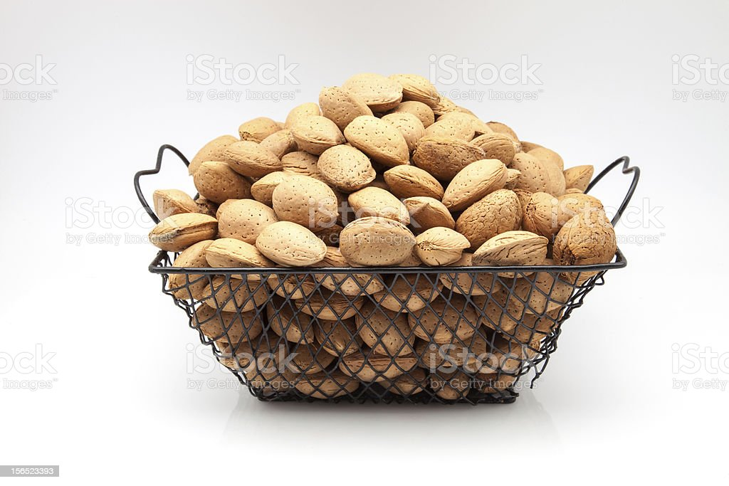 almonds with royalty-free stock photo
