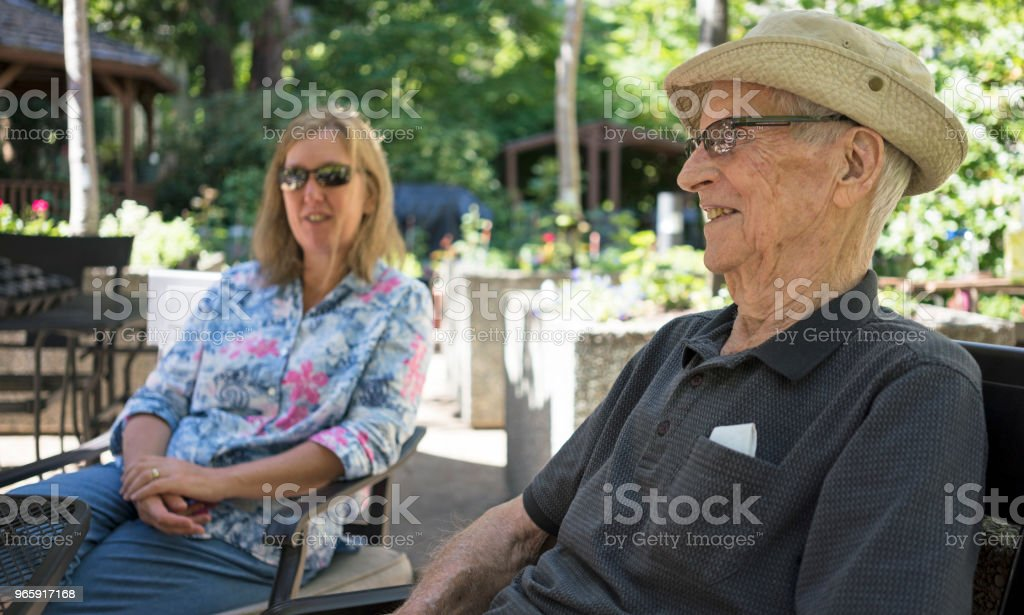 Almost 100 years old - Royalty-free Adult Stock Photo