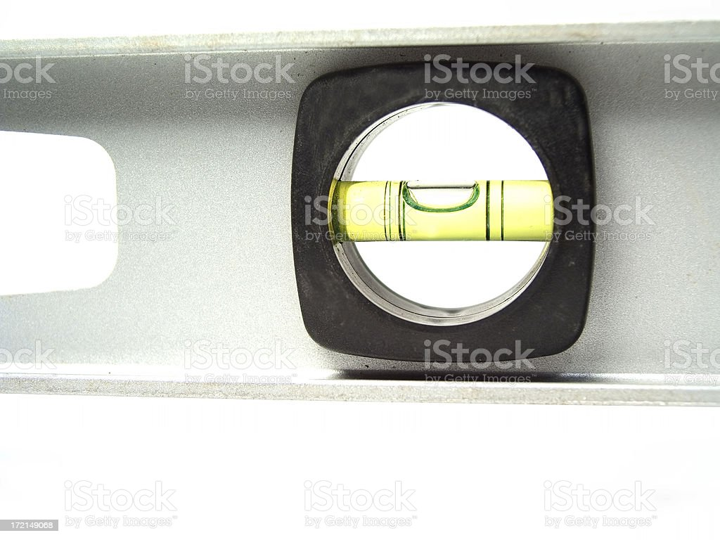 Almost level royalty-free stock photo