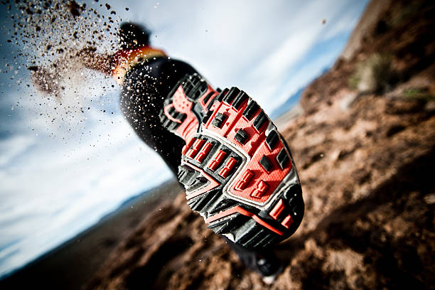 almost A female athlete out for a run passion stock pictures, royalty-free photos & images