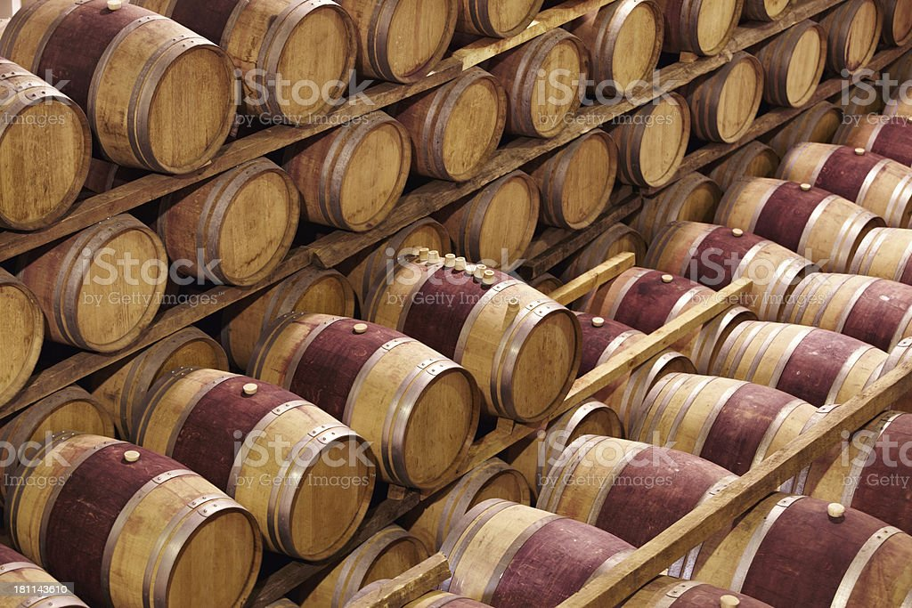Almost ready for bottling royalty-free stock photo