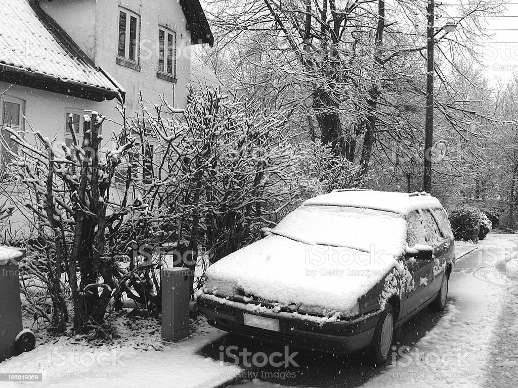 Almost snowed in. royalty-free stock photo