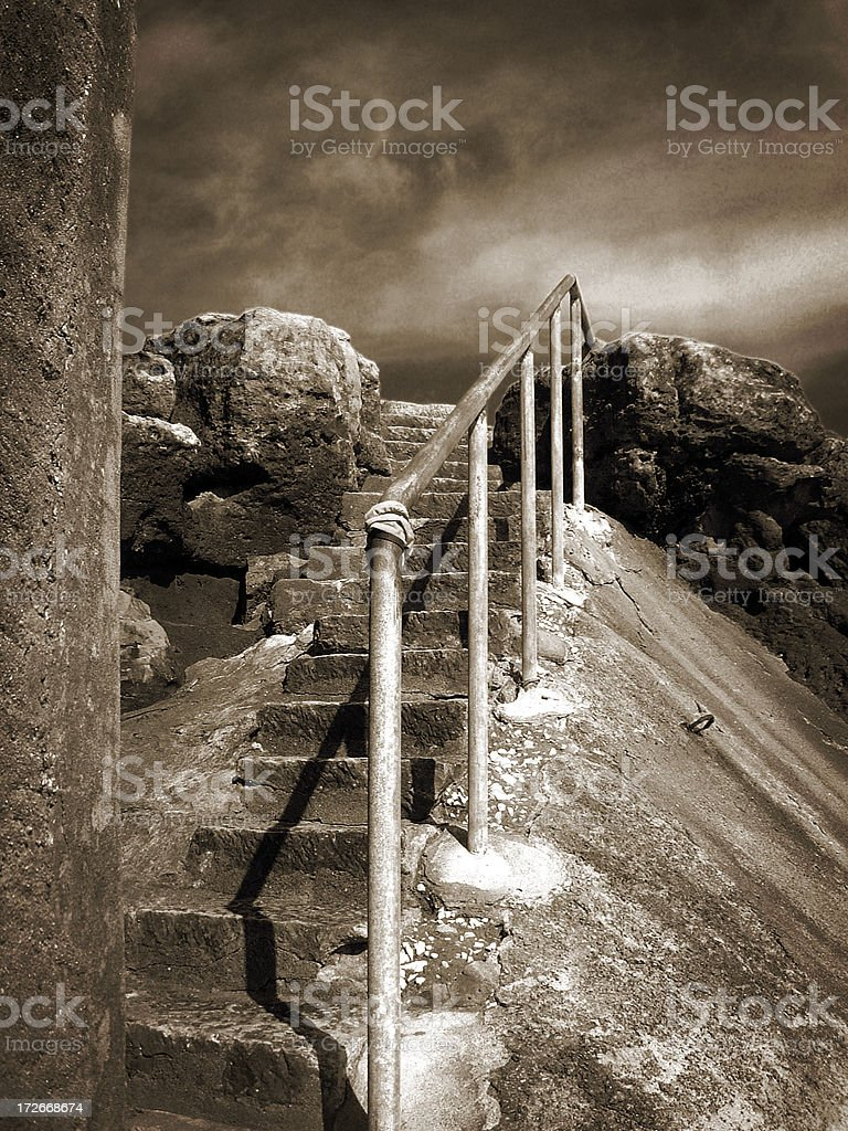 Almost there royalty-free stock photo