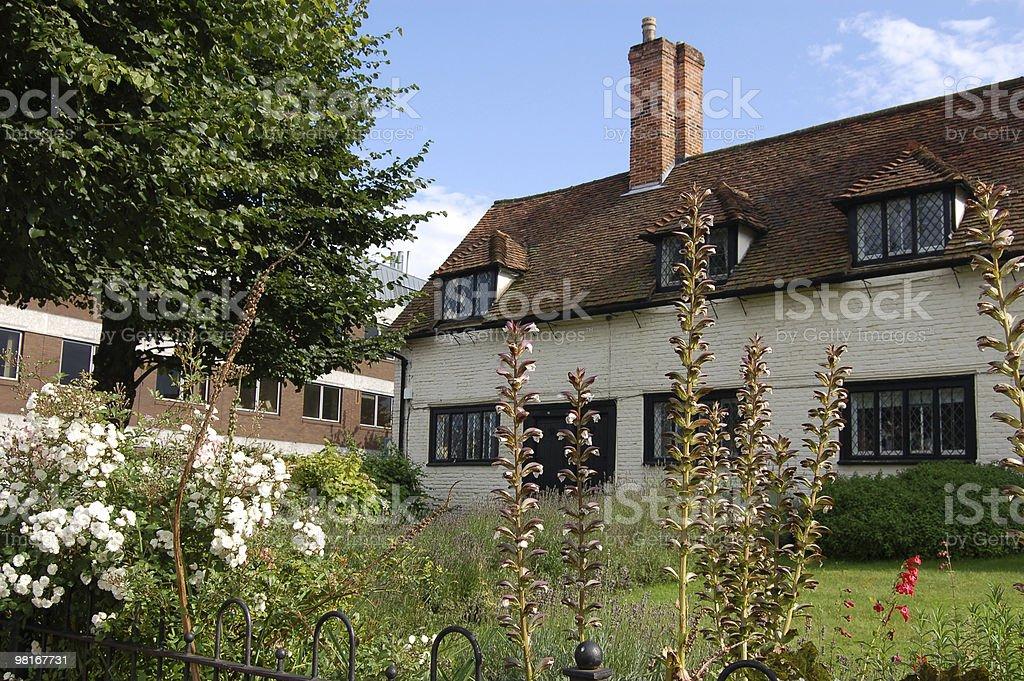 Almshouses, Basingstoke royalty-free stock photo