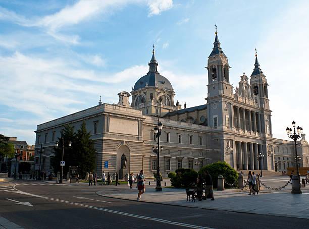 La Cattedrale di Almudena, Madrid - foto stock