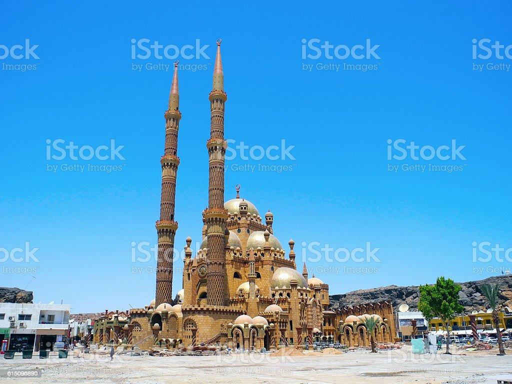 Al-Mustafa Mosque. stock photo