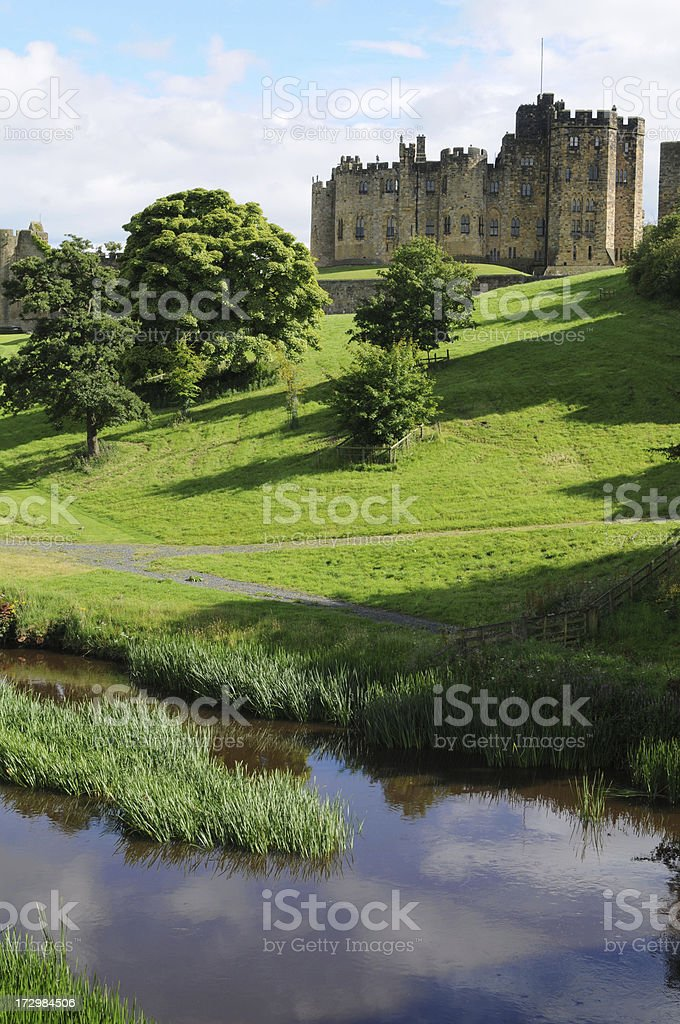 Aln River, Northumberland royalty-free stock photo