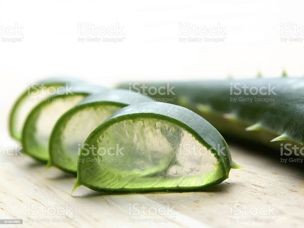 Aloe cut royalty-free stock photo