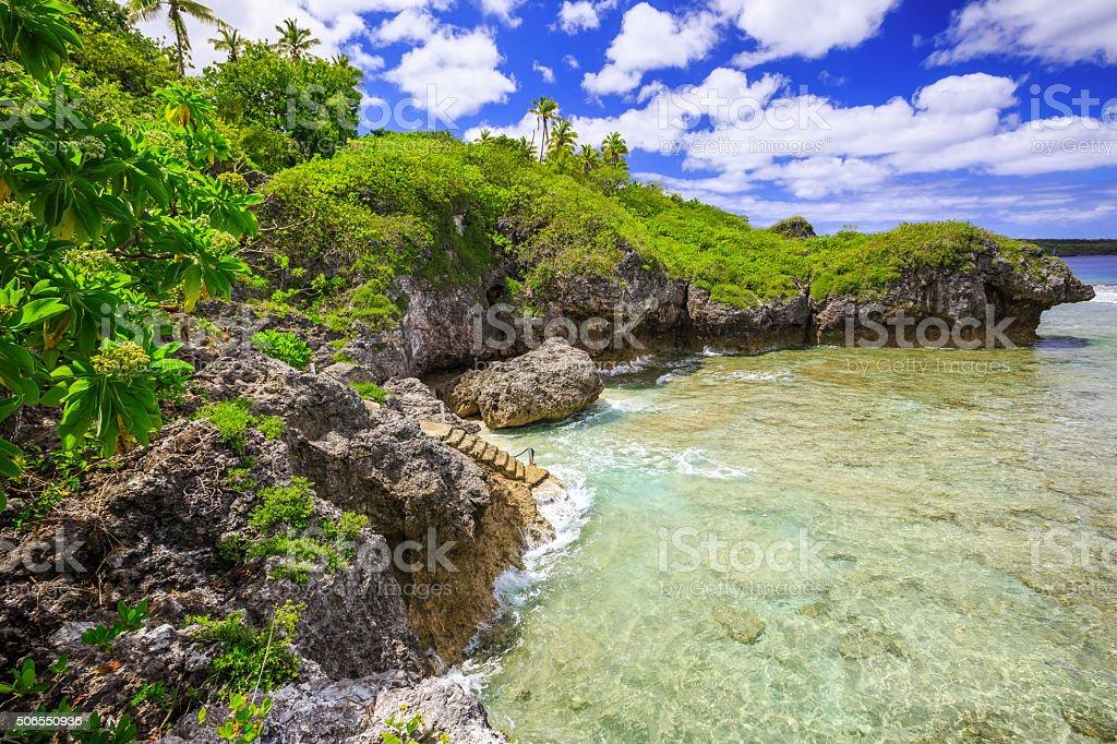 Alofi, Niue stock photo