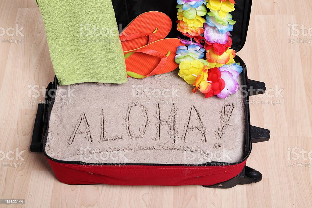 ¡Aloha! - foto de stock