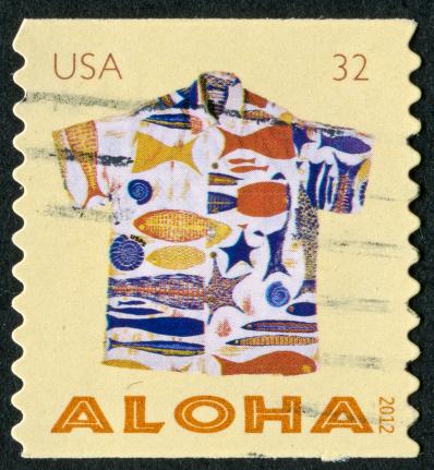 Aloha Shirt Stamp
