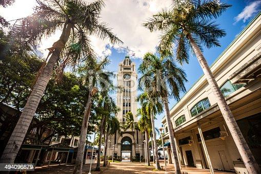 Aloha Tower, Honolulu, Oahu, Hawaii