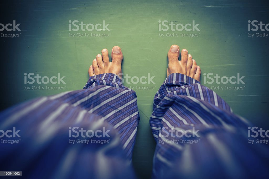 Alone in the house - Royalty-free Adult Stock Photo