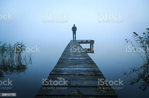 Photo of Alone on a jetty